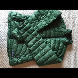 Patagonia down sweater coat